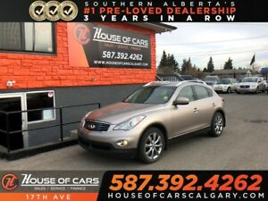 2010 Infiniti EX35 Luxury / 360 Cam / Sunroof