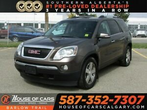 2010 GMC Acadia SLT / Sunroof / 7 Passengers / Leather