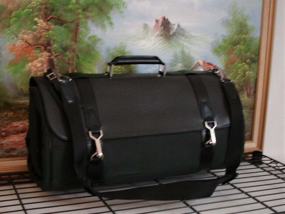 Louis Vuitton Authentic Taiga Travel Garment Bag Luggage Suitcase Travel Bag - $1,135.00