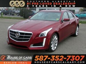 2014 Cadillac CTS Performance / Navi / Leather / Bac up Camera