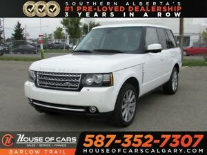 2012 Land Rover Range Rover Supercharged / Navi / Back up Camera