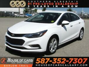 2017 Chevrolet Cruze Premier / Heated leather seats / Back up ca