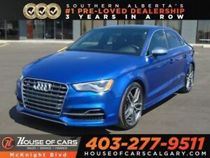 2015 Audi S3 2.0T / Leather / Sunroof / Back Up Cam