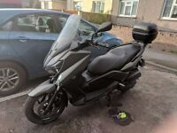 Yamaha X-MAX 125 (ABS, 2015 low mileage, free additional security and biking equipment) Sold as Seen