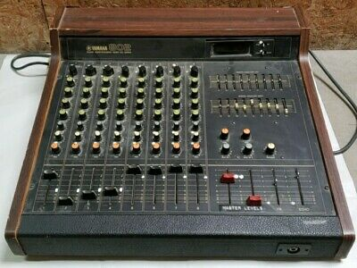 Vintage Yamaha 802 Sound Reinforcement Mixer MQ Series