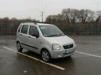 Very reliable, 03 plate, Suzuki wagon r+gl. 1.3. august 2017 mot