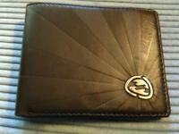 Billabong Trifold Brown Leather Wallet - brand new without tags