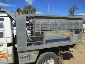 Fully gal steel ute tray – to suit Land Cruiser Yuleba Roma Area Preview
