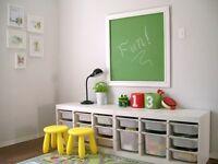 IKEA Trofast children's toy storage white with white drawers