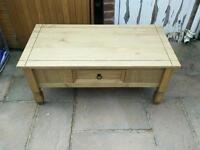 £40 pine coffee table farmhouse shabby chic project