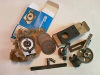 Wanted emco unimat 3 lathe accessories.