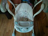 Baby swing and other items