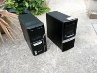2 Computer Tower Units