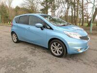 NISSAN NOTE 2014 TEKNA 1.5 DCI - LOW LOW 6,900 MILES ONLY - FREE ROAD TAX