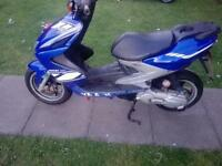 Yamaha mbk nitro.100cc grab a cheap good bike