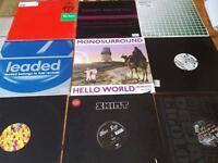 81 x records djs club top tracks vinyls 12 inches , classic ,oldskool,