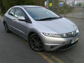 2007 HONDA CIVIC only 88000 miles HPI CLEAR 1 year MOT JUST SERVICED