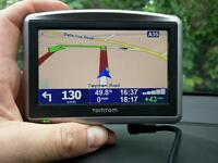 Tomtom one xl car sat nav gps with Bluetooth hands free