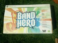 Band Hero plus instruments XBOX 360