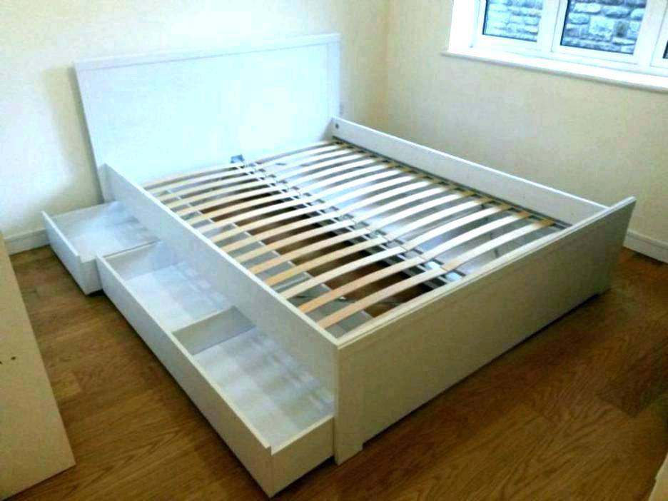 Ikea White King Size Bed With 4 Under Storage Drawers In Bicester Oxfordshire Gumtree