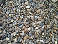Free decorative gravel
