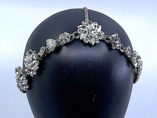 ERICKSON BEAMON Swarovski Crystal Headpiece Crown Bridal Boho Cosplay