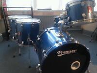 Premier series classic drum kit