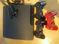 Ps3 slimline 160gb with games and accessories