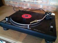 1 x dj technics deck Turntable Sl 1210mk2 plus free 20 x records vinyl, all oldskool club