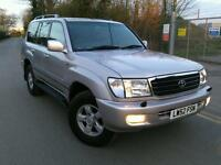 2002 TOYOTA LANDCRUISER AMAZON VX 4.2 diesel AUTO IMMACULATE LOW MILEAGE 133k