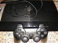 Slim PS3 with 4 Games