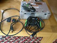 Faulty Original Xbox Console plus controller and DVD playback kit