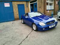 Slk Mercedes 200 automatic 2001 beautiful car