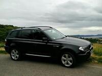 BMW X3 2.0d M Sport 2005 Black