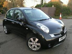 2010 Nissan Micra AUTOMATIC 5dr 34000miles Full SERVICE HISTORY like Yaris toyota civic jazz aygo