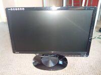 """19"""" Inch BenQ HD VGA Monitor."""