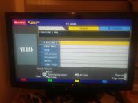 Panasonic TX-L37U2B 37 inch LCD TV 1080P Full HD, Fully Working