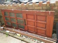 Free external door