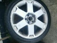 Vw Audi 17 inch alloys