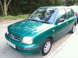2000 model Nisan Micra 5dr Automatic genuine 60k miles