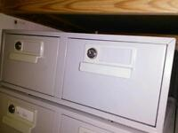 Bisley Lockable Index Card drawers