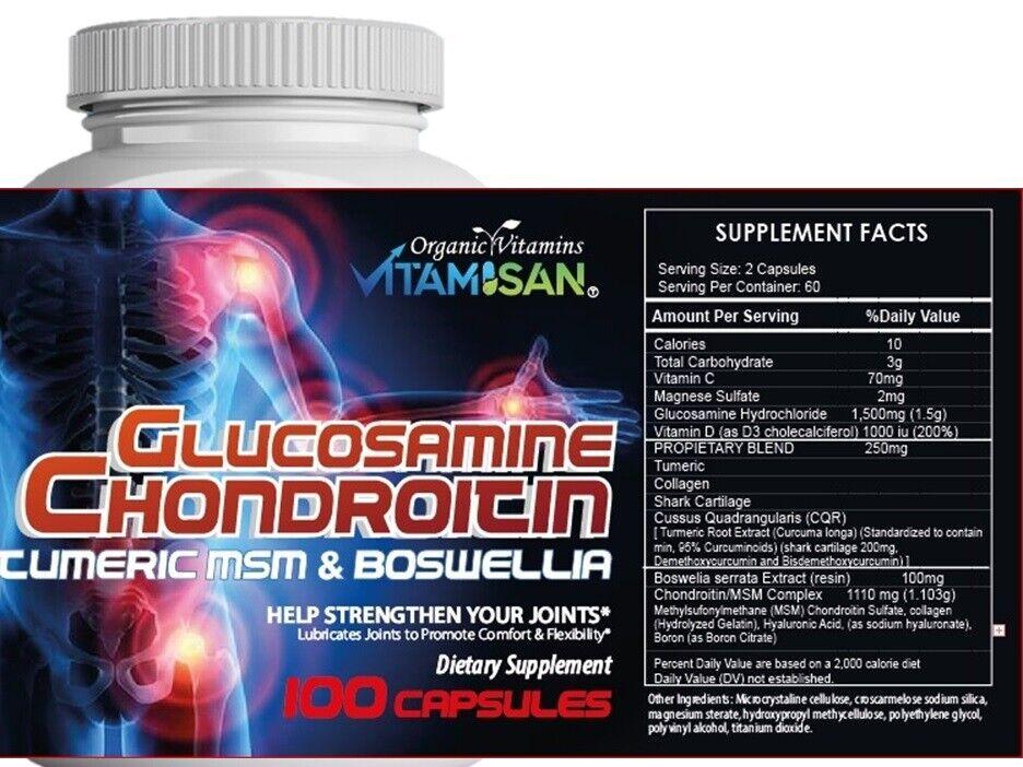 glucosamine chondroitin triple strength 240 caplets 3