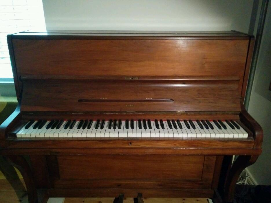 Free upright piano.
