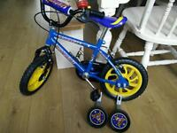 "Boys bike 12"" Raleigh rocket"