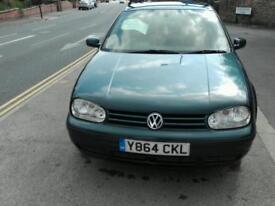 2001 Volkswagen for sale service history needs engine mountains. One owner.