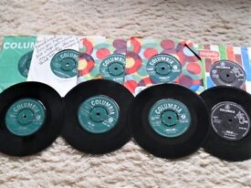FOR SALE. SHADOW SINGLES FROM THE 1960'S. NO REASONABLE OFFER REFUSED