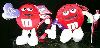 Vintage M&M's Red Characters Plush (2)