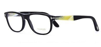 Tom Ford TF5430 001 Black Men's Oval Eyeglasses Optical Frame FT5430 NEW (Tom Ford Mens Optical Frames)