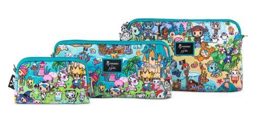 Ju Ju Be Tokidoki X Be Set Fantasy Paradise 3 Bags Pouch Set Baglet