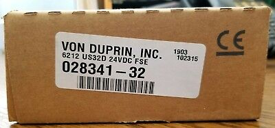 Von Duprin 6212 Us32d 24vdc Fse Electric Strike For Mortise Of Cylindrical Lock